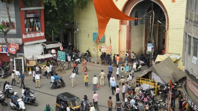 Marbat festival procession, Nagpur, Maharashtra, India.