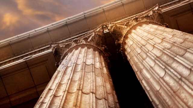 marble columns closeup - government building stock videos and b-roll footage