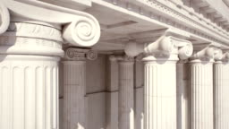 Marble Columns. Loopable