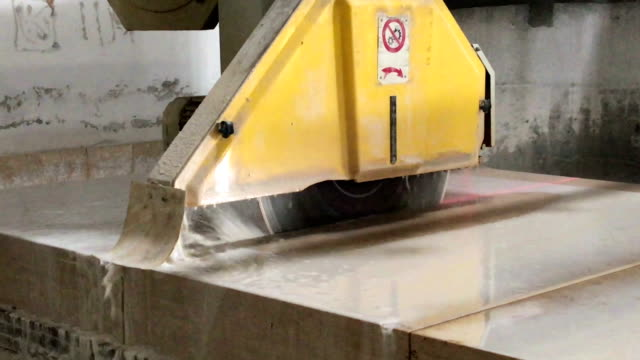 marble factory - hand saw stock videos and b-roll footage