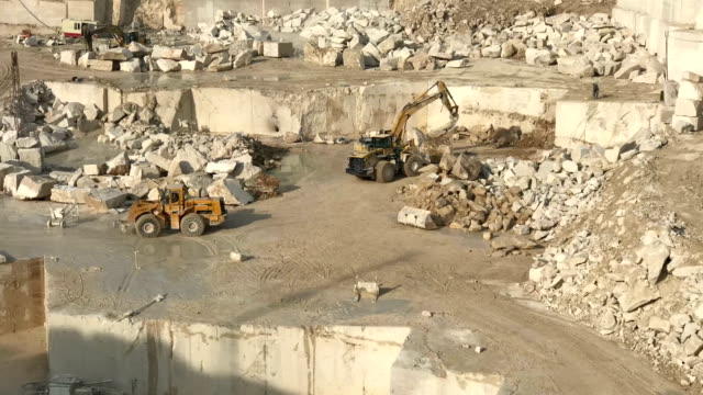 marble quarry time lapse - marble rock stock videos and b-roll footage