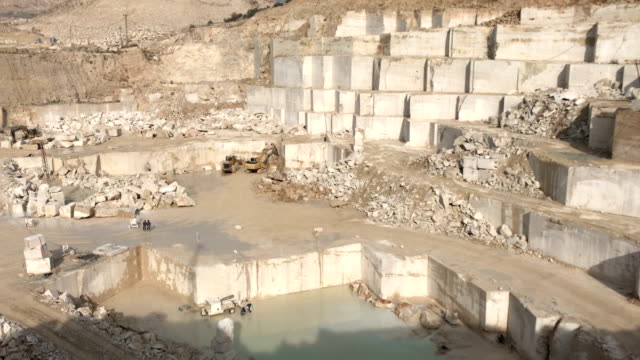 marble quarry - marble rock stock videos and b-roll footage