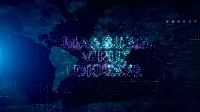 marburg virus disease title animation - retrovirus stock videos & royalty-free footage