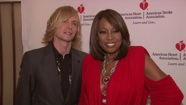 marc bouwer and star jones at the star jones attends 'celebrity apprentice' premiere for american heart association at new york ny. - star jones stock videos & royalty-free footage