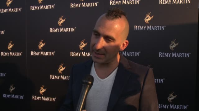 marc forgione on his favorite way to drink remy martin at rémy martin hosts a special evening with jeremy renner and fetty wap celebrating the... - wap stock videos & royalty-free footage