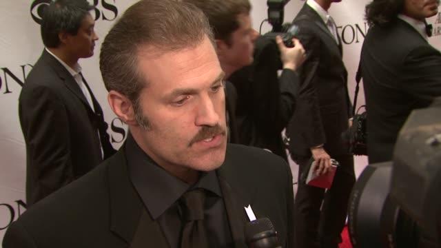 Marc Kudisch at the 63rd Annual Tony Awards Red Carpet at New York NY