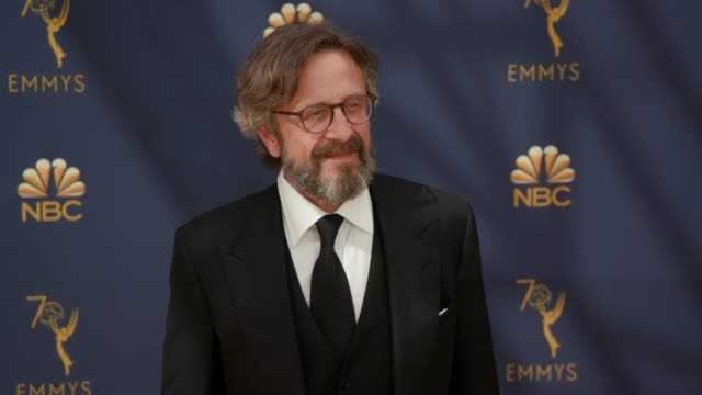 vídeos de stock, filmes e b-roll de marc maron at the 70th emmy awards arrivals at microsoft theater on september 17 2018 in los angeles california - 70th annual primetime emmy awards