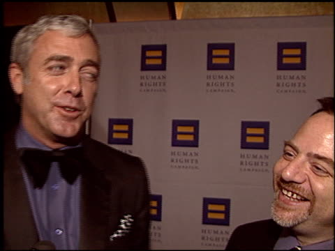 marc shaiman at the human rights campaign honors barbra streisand at the century plaza hotel in century city, california on march 6, 2004. - barbra streisand stock videos & royalty-free footage