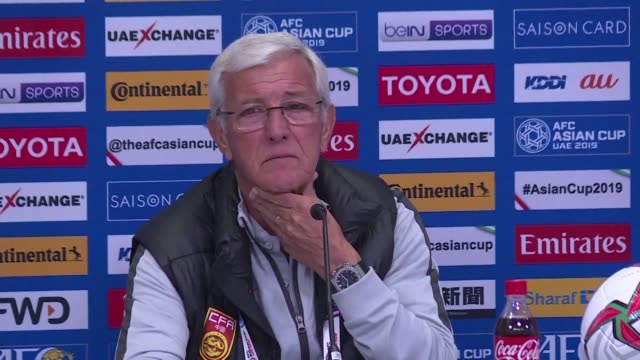 vídeos de stock, filmes e b-roll de marcello lippi is back as coach of china four months after the world cup winner quit and following a failed stint by fellow italian fabio cannavaro - campeonato esportivo
