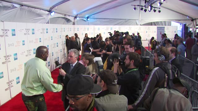 marcellus vernon wiley and press at the espn gala presents 'straight outta l.a.' - 9th annual tribeca film festival at new york ny. - tribeca festival stock videos & royalty-free footage