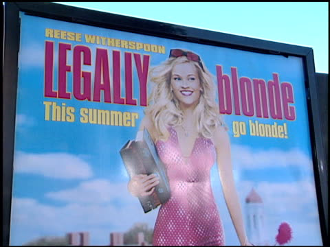 marching band at the 'legally blonde' premiere at the mann village theatre in westwood, california on june 26, 2001. - premiere stock videos & royalty-free footage