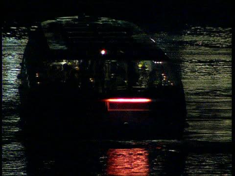 inquest verdict r tower bridge pleasure boat along river ditto ditto end lib - marchioness stock videos and b-roll footage