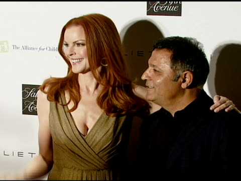 Marcia Cross and Elie Tahari at the Elie Tahari Celebrates Opening of New Boutique Within Saks Fifth Avenue Benefiting the Alliance For Children's...