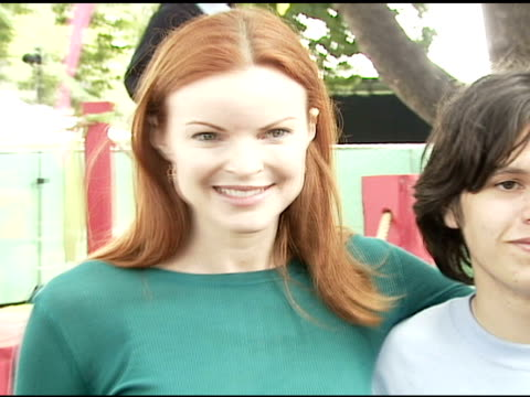 marcia cross at the 'a time for heroes' celebrity picnic and carnival to benefit the elizabeth glaser pediatric aids foundation at wadsworth theatre... - elizabeth glaser stock videos & royalty-free footage