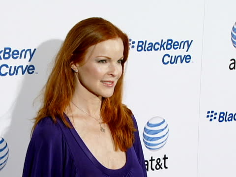 Marcia Cross at the BlackBerry Curve from ATT US Launch Party at Beverly Hills California