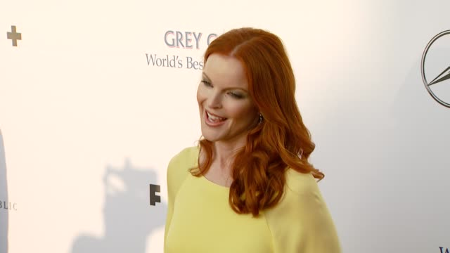 marcia cross at the chrysalis butterfly ball at a private residence in los angeles california on june 2 2007 - 2007 stock-videos und b-roll-filmmaterial