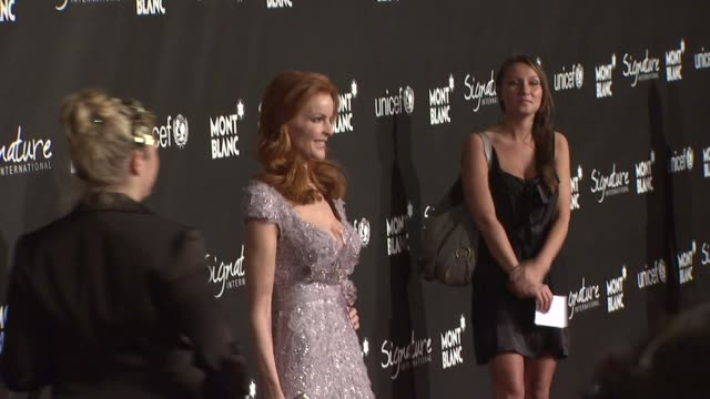 Marcia Cross at the Montblanc Signature for Good Event In Association With UNICEF at Los Angeles CA