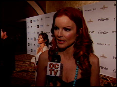 marcia cross at the project als benefit gala at the century plaza hotel in century city, california on may 6, 2005. - century plaza stock videos & royalty-free footage