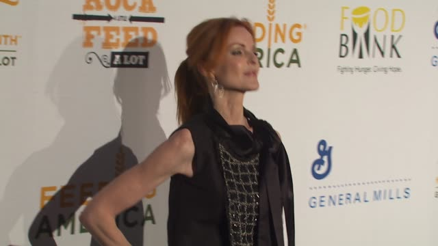 Marcia Cross at the 'Rock A Little Feed A Lot' Benefit Concert at Los Angeles CA