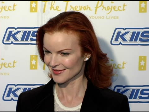 Marcia Cross at the Trevor Project's 'Cracked Xmas 7' Honoring Debra Messing and Megan Mullally at the Wiltern Theater in Los Angeles California on...