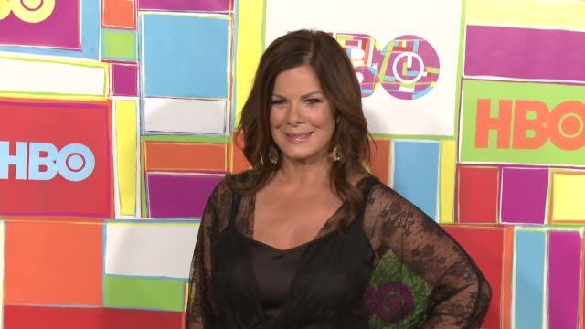 vídeos y material grabado en eventos de stock de marcia gay harden at hbo's official 2014 emmy after party at the plaza at the pacific design center on august 25 2014 in los angeles california - premios emmy