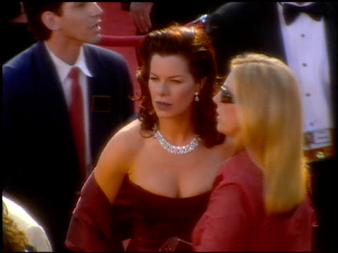 marcia gay harden at the 2001 academy awards at the shrine auditorium in los angeles california on march 25 2001 - 73rd annual academy awards stock videos & royalty-free footage