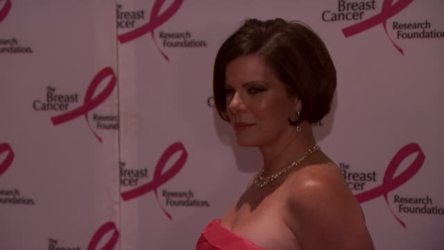 marcia gay harden at the 2010 breast cancer research foundation's hot pink party - arrivals at new york ny. - hot pink stock videos & royalty-free footage