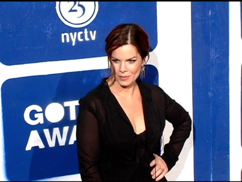 marcia gay harden at the ifp's 15th annual gotham awards arrivals at pier 60 at chelsea piers in new york new york on november 30 2005 - chelsea piers stock videos & royalty-free footage
