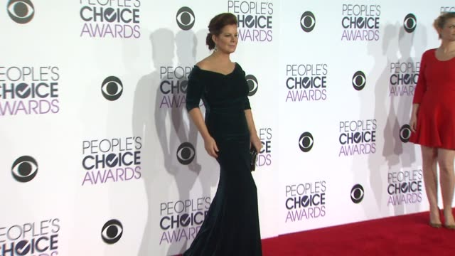 marcia gay harden at the people's choice awards 2016 at nokia plaza l.a. live on january 6, 2016 in los angeles, california. - people's choice awards stock-videos und b-roll-filmmaterial