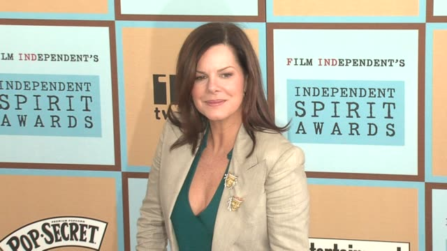 marcia gay harden at the the 21st annual ifp independent spirit awards in santa monica, california on march 4, 2006. - independent feature project stock videos & royalty-free footage