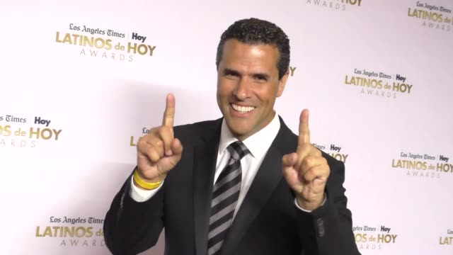 marco antonio at the 2016 latinos de hoy awards at dolby theatre in hollywood on october 09 2016 in hollywood california - the dolby theatre stock videos & royalty-free footage