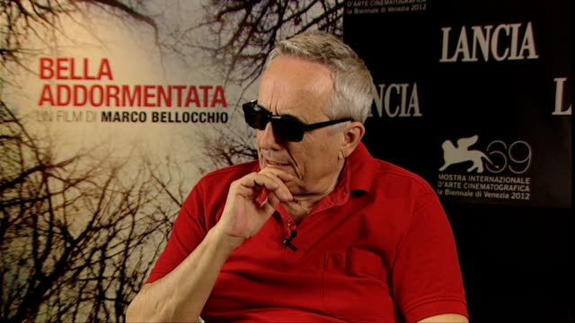 marco bellocchio on the human interest part of the story why he chose to tell the story of euthanasia at bella addormentata interviews 69th venice... - euthanasia stock videos & royalty-free footage