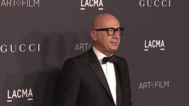 marco bizzarri at 2016 lacma art film gala honoring robert irwin and kathryn bigelow presented by gucci at lacma on october 29 2016 in los angeles... - marco marco designer label stock videos and b-roll footage