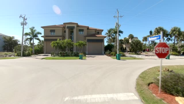 marco island i synched series front view driving process plate - driving plate stock videos & royalty-free footage