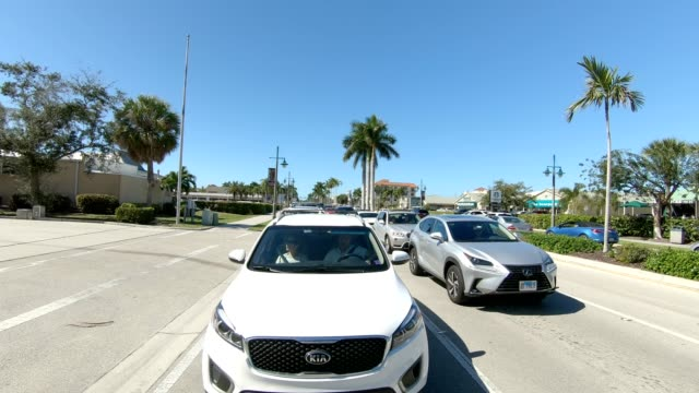 marco island xiii synched series rear view driving process plate - driving plate stock videos & royalty-free footage