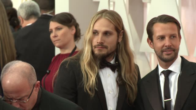 Marco Perego at the 87th Annual Academy Awards Arrivals at Dolby Theatre on February 22 2015 in Hollywood California