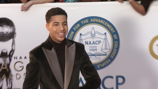 Marcus Scribner at the 49th NAACP Image Awards at Pasadena Civic Auditorium on January 15 2018 in Pasadena California
