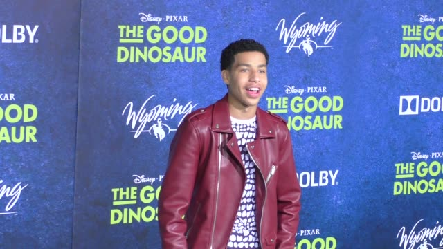 marcus scribner at the good dinosaur premiere at el capitan theatre in hollywood on november 17 2015 in los angeles california - el capitan theatre bildbanksvideor och videomaterial från bakom kulisserna