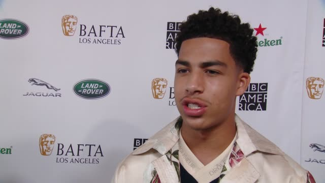 interview marcus scribner on why the bafta la tv tea party is a mustattend event what he is most looking forward to at 2018 bafta los angeles bbc... - bafta la tea party stock videos and b-roll footage