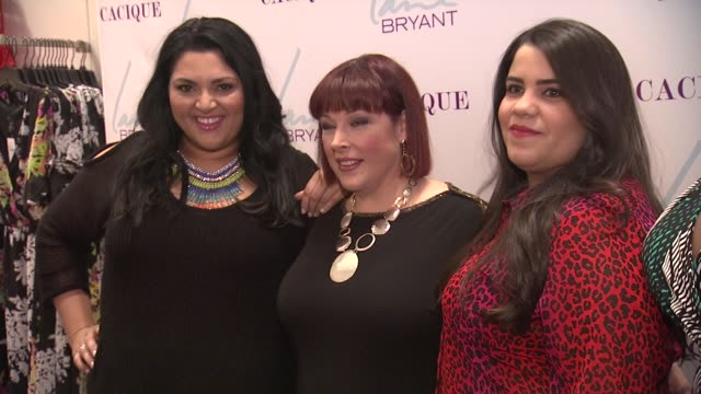 Marcy Guevara Carnie Wilson Ashley Falcon and Alissa Wilson at Lane Bryant 34th Street Flagship Store Opening Party at Lane Bryant Flagship Store on...