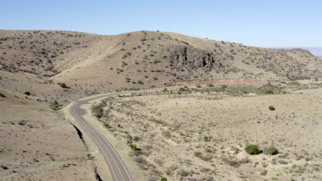 marfa and fort davis landscape aerial - west direction stock videos & royalty-free footage