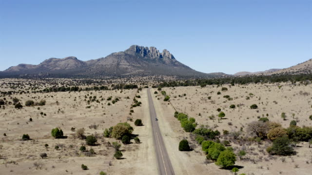 marfa and fort davis landscape aerial - wild west stock videos & royalty-free footage