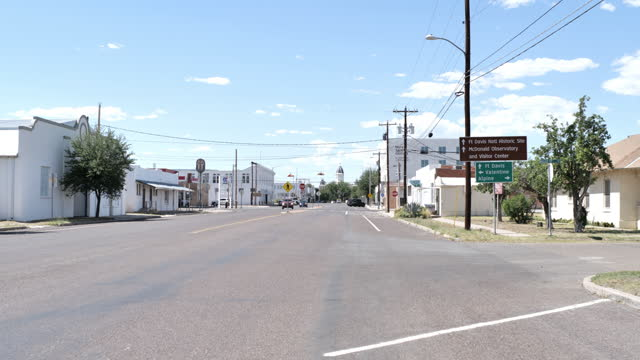 marfa, texas - west direction stock videos & royalty-free footage
