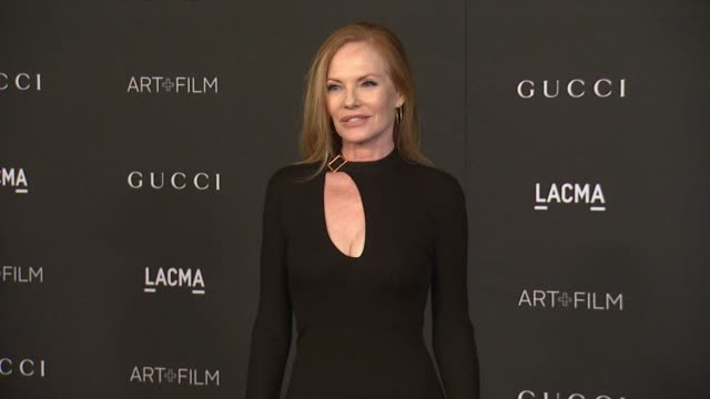 marg helgenberger at 2014 lacma art+film gala honoring barbara kruger and quentin tarantino presented by gucci in los angeles, ca 11/1/14 - marg helgenberger stock videos & royalty-free footage
