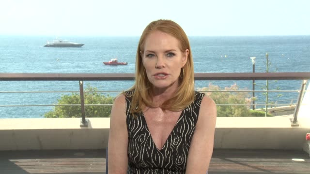 marg helgenberger at 56th monte carlo tv festival - day 2 on june 14, 2016 in monaco, monaco. - marg helgenberger stock videos & royalty-free footage