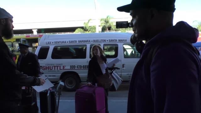 marg helgenberger at los angeles international airport at celebrity sightings in los angeles on november 06, 2015 in los angeles, california. - marg helgenberger stock videos & royalty-free footage