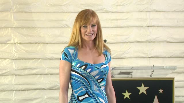 marg helgenberger at marg helgenberger & the hollywood chamber of commerce announce new walk of fame honorees for 2013 marg helgenberger at marg... - marg helgenberger stock videos & royalty-free footage