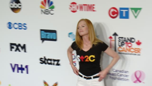 marg helgenberger at stand up to cancer 2014 at dolby theatre on september 05, 2014 in hollywood, california. - marg helgenberger stock videos & royalty-free footage