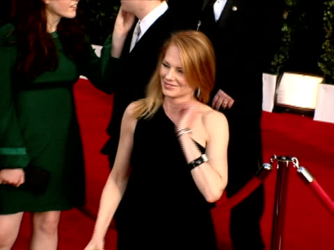 marg helgenberger at the 14th annual screen actors guild awards at los angeles ca. - marg helgenberger stock videos & royalty-free footage