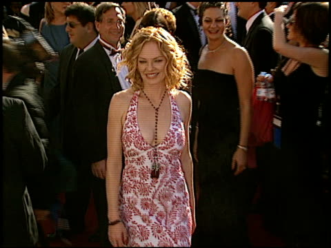 Marg Helgenberger at the 2002 Emmy Awards at the Shrine Auditorium in Los Angeles California on September 22 2002